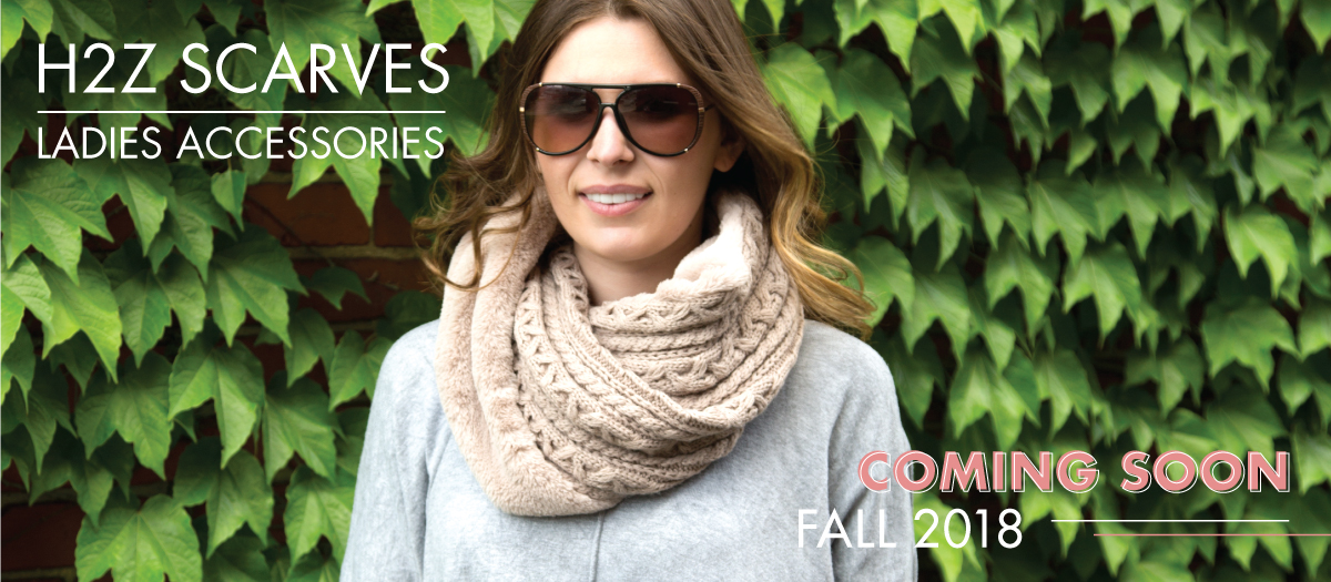 New Fall 2018 - Shop H2Z Scarves