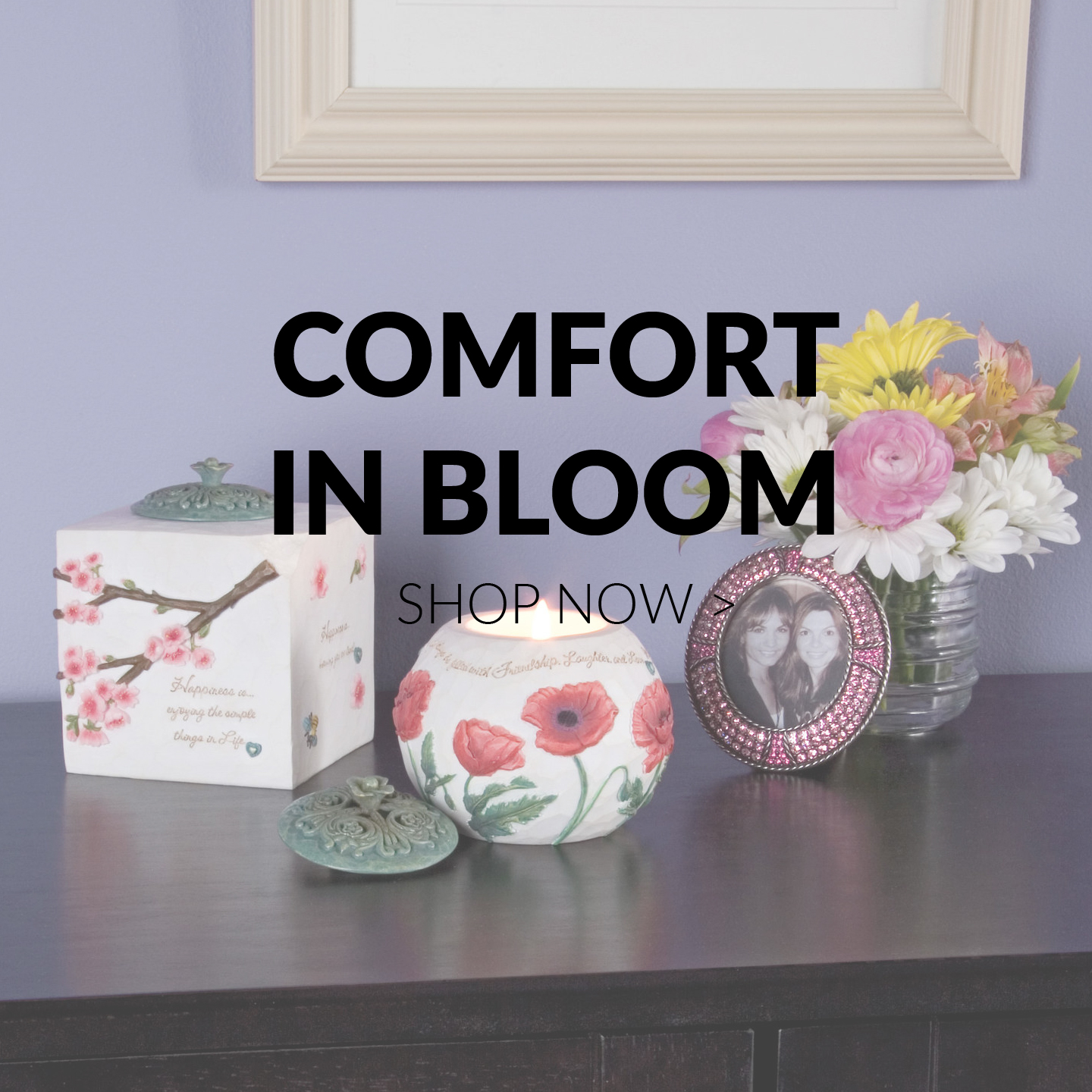 Comfort in Bloom