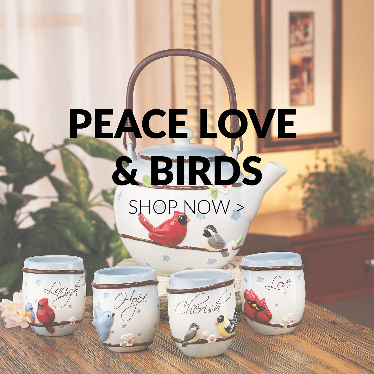 Peace Love & Birds