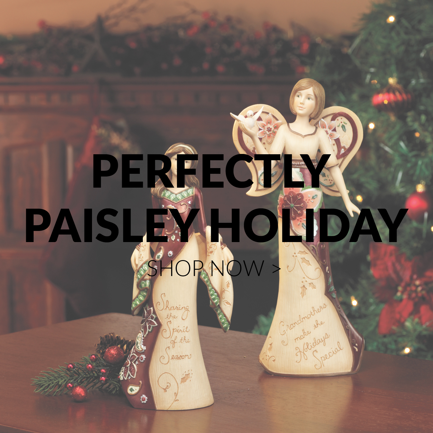 Perfectly Paisley Holiday