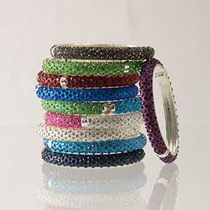 H2Z Bangle Bracelets & Earrings
