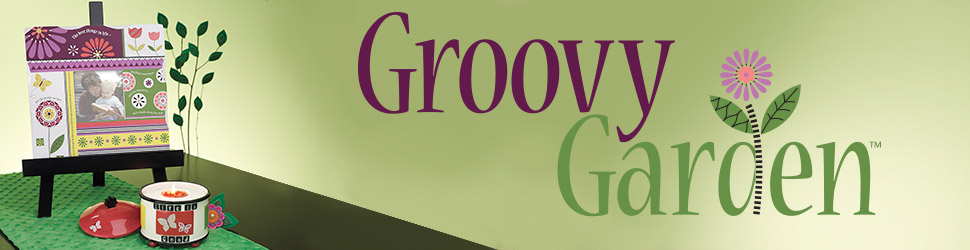 Groovy Garden arranged items preview banner