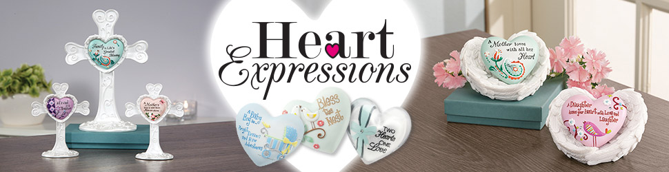Heart Expressions arranged items preview banner
