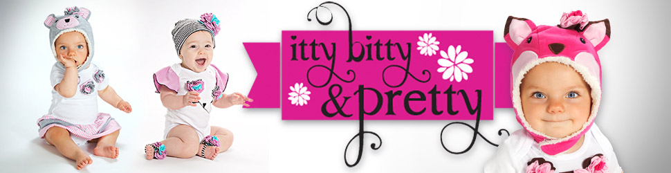 Itty Bitty & Pretty arranged items preview banner