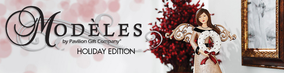 Modeles Holiday arranged items preview banner