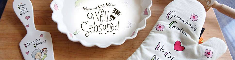 Well Seasoned arranged items preview banner