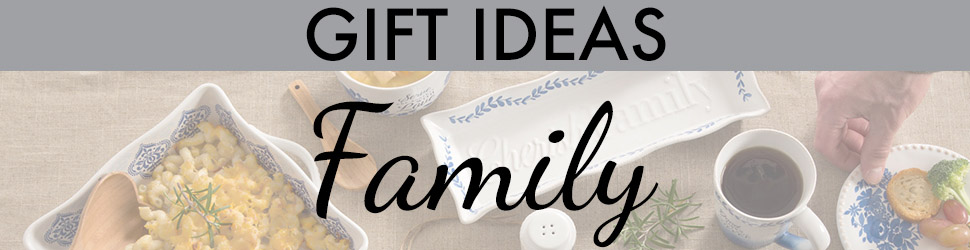 Family arranged items preview banner