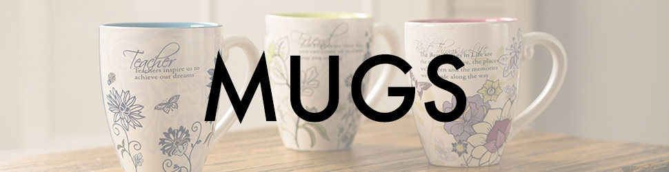 Mugs arranged items preview banner