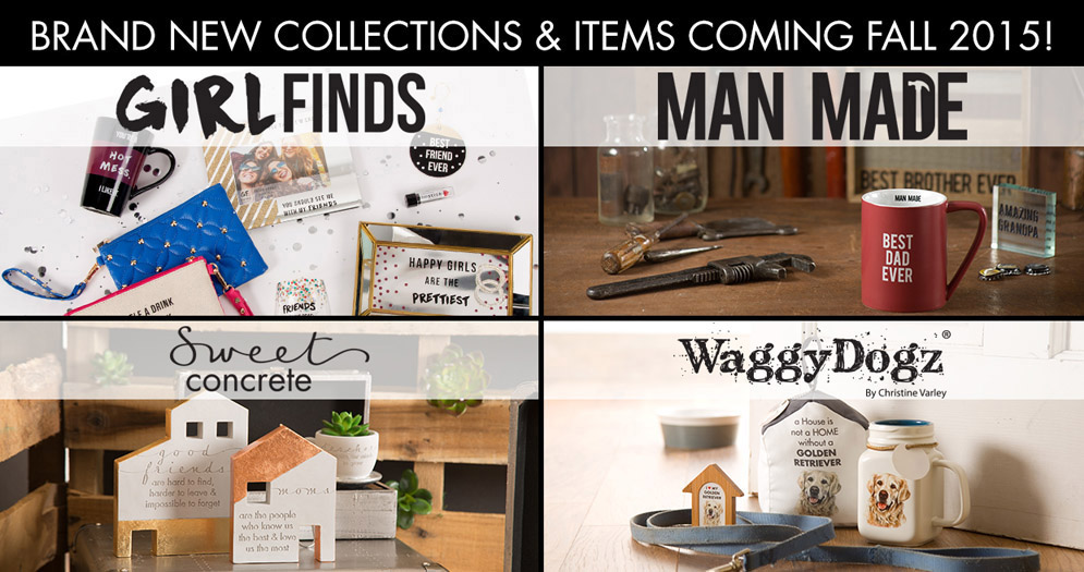 Fall 2015 - Girlfinds, Man Made, Sweet Concrete, and Waggy Dogz Banner