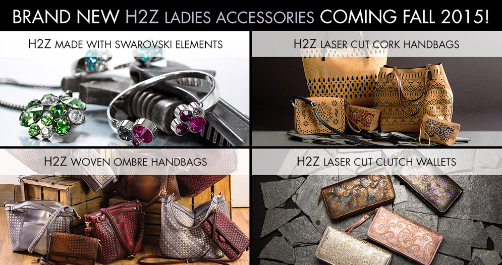 H2Z Made with Swarovski Elements Fall 2015 Banner