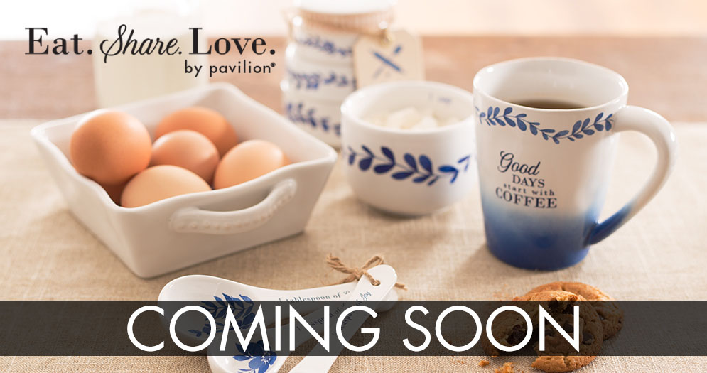 Eat. Share. Love. coming soon