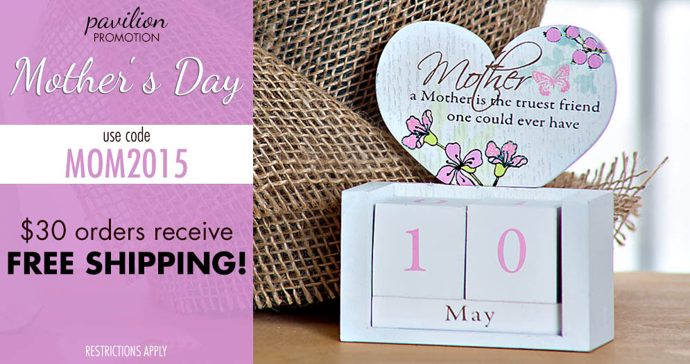 Pavilion Promo for Mother's Day