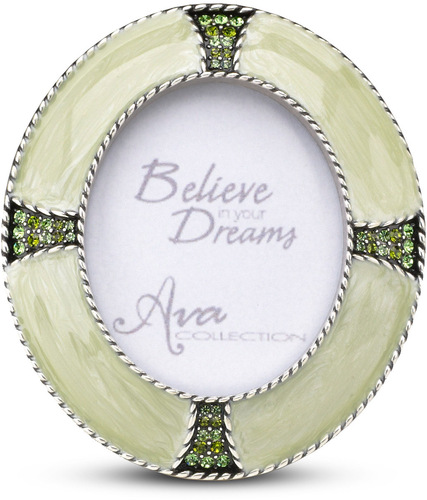 Peridot Oval Photo Frame by Ava Collection - 3