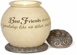 "Best Friends by Comfort To Go - 4"" Round w/base"