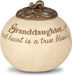 "Granddaughter by Comfort To Go - 3.5"" Round"