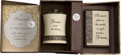 Friend Gift Set by Comfort To Go - Candle w/ Musical Plaque