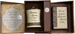 Someone Special Gift Set by Comfort To Go - Candle w/ Musical Plaque
