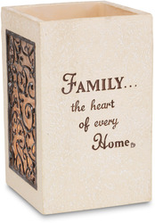 "Family by Comfort To Go - 5"" Tall Square"