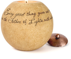 "Father of Lights by Comfort Candles - 5"" Round"
