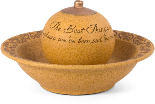 Best Things in Life Fountain by Comfort Candles - 9.25