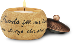 "Friend by Comfort Candles - 1.5"" Round"