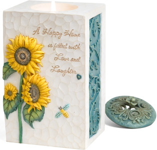 "Happy Home by Comfort in Bloom - 5.5""x3.5"" Tall Rectangle"
