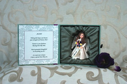 "Aunt by Someone Special - 5.5""x5.5"" Aunt Angel Set"