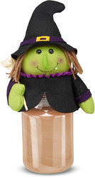 "Wilma by Candle Cozies - 3.5"" x 7.5"" Witch Cozie"