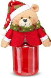 "Ted-E by Candle Cozies - 3.5"" x 7.5"" Bear Cozie"