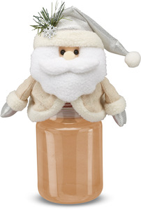 "Kris by Candle Cozies - 3.5"" x 7.5"" Santa Cozie"