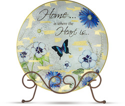"Home by Bonita - 8"" Plate Packed with Stand"