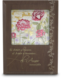 "El Amor by Bonita - 5.5"" x 7.5"" Plaque with Spanish Sentiment"