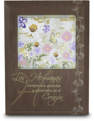 "Las Hermanas by Bonita - 5.5"" x 7.5"" Plaque with Spanish Sentiment"