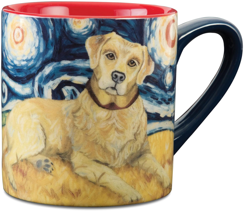 Van Growl, 16oz Van Gogh Dog Mug