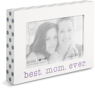 "Best Mom  by Mom Love - 7.5"" x 5.5"" Frame (Holds 4"" x 6"" Photo)"