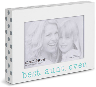 "Best Aunt  by Mom Love - 7.5"" x 5.5"" Frame (Holds 4"" x 6"" Photo)"