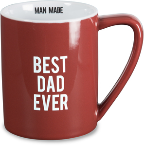 Best Dad by Man Made - 18 oz. Mug