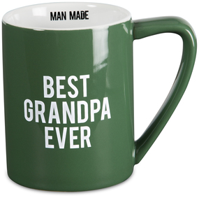 Grandpa by Man Made - 18 oz Dark Green Coffee Mug