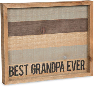 "Grandpa by Man Made - 9"" x 7"" Tray"