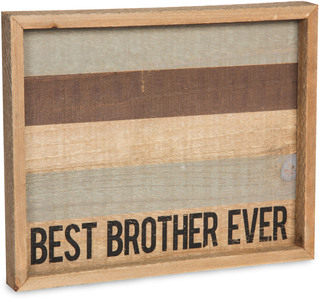 "Brother by Man Made - 9"" x 7"" Tray"