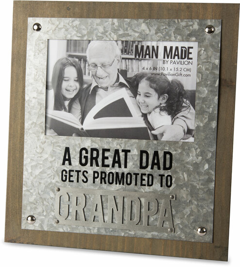 Grandpa 825 X 9 Frame Holds 4 X 6 Photo Man Made Pavilion