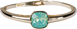"Isabel Pacific Opal by H2Z Made with Swarovski Elements - 2.125"" Swarovski Crystal Bangle Bracelet"