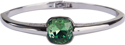 "Isabel Erinite by H2Z Made with Swarovski Elements - 2.125"" Swarovski Crystal Bangle Bracelet"