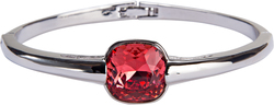 "Isabel Padparadscha by H2Z Made with Swarovski Elements - 2.125"" Swarovski Crystal Bangle Bracelet"