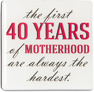 "Motherhood by Sorta-Sarcastic! - 3"" Magnet with Easel Back"
