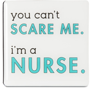 "Nurse by Sorta-Sarcastic! - 3"" Magnet with Easel Back"