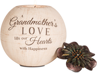 "Grandmother by Light Your Way - 5"" Round Tea Light Holder"