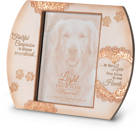 In Memory Dog Picture Frame - Pavilion