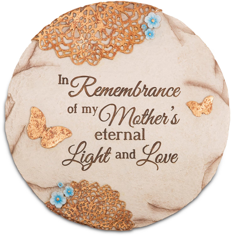 In Memory Of Mom Garden Stone Pavilion
