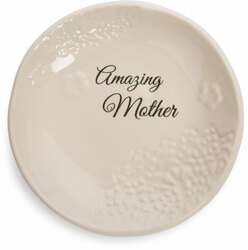 "Mother by Light Your Way Every Day - 5"" Ceramic Plate"